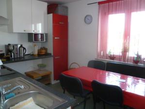 Küche im Gästehaus Spraitbach